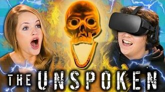 WIZARDING WAR BETWEEN REACTORS! - The Unspoken (Teens & College Kids VR Mixed Reality Gaming)