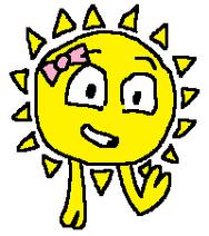 Sunny waving