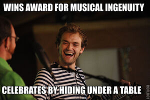 Chris Thile is such a dork