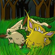 Raiden and Ariada