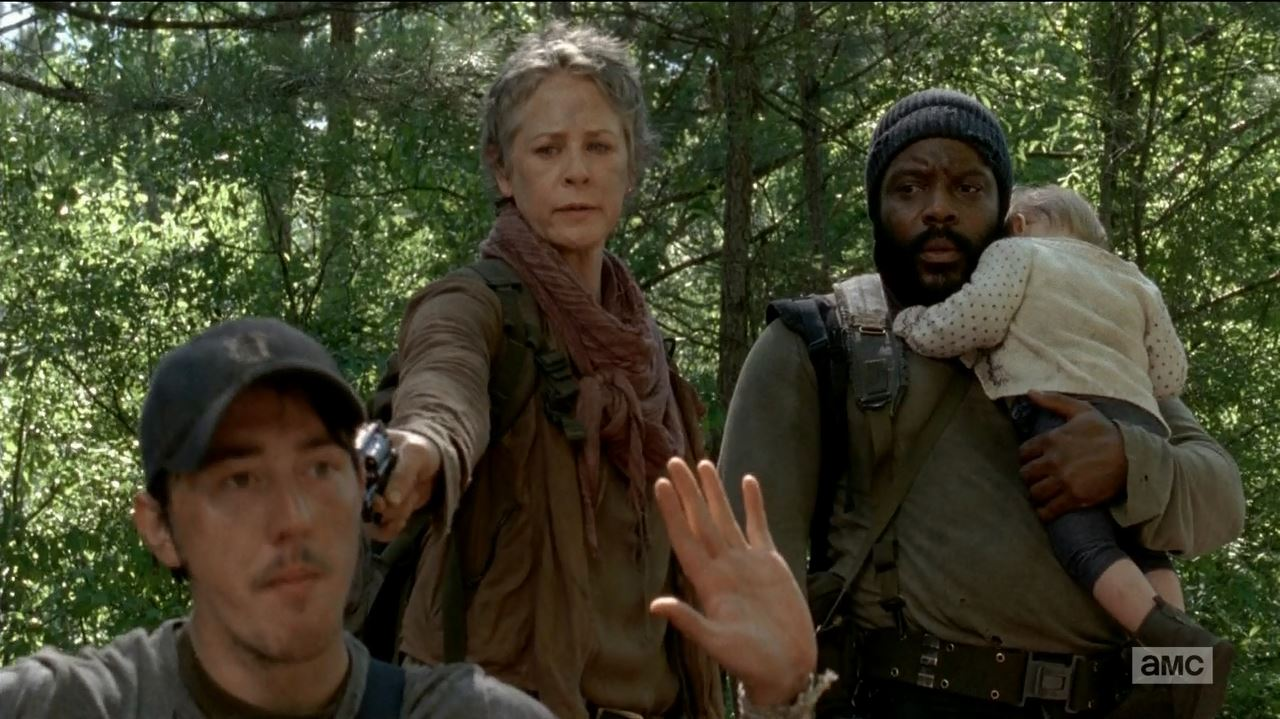 Image result for Carol and Tyreese TV show