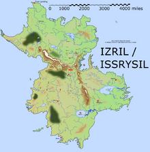 Izril map