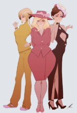 Pryde, Magnolia, Wuvren by pkay