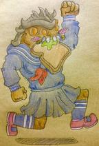 Creler-girl by Brack