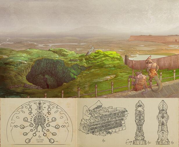 Liscor Dungeon Entrance by Enuryn