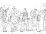 Redfang Elite Warriors