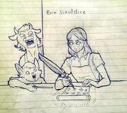 Erin Scrollstice by DemonicCriminal