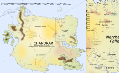 Chandrar Map
