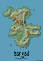 Izril topographic by auspiciousoctopi