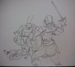 Ksmvr vs Bandits by DemonicCriminal
