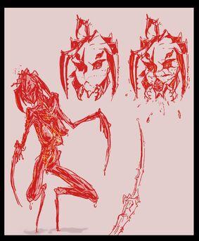 Humanoid Creler by JohnDoe