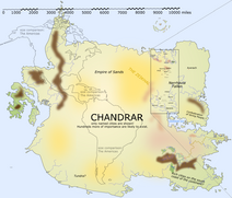 Chandrar Overview Map