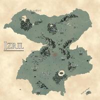 Izril map by Waytfm