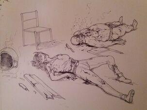 Erin vs Chieftain by DemonicCriminal