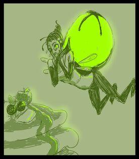 Humanoid Acidfly by JohnDoe