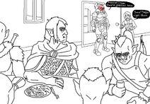Redfangs meet Goblin Slayer by DemonicCriminal