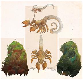 Rock Crabs by Enuryn