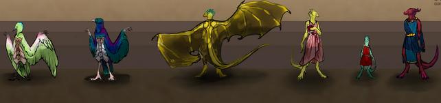 Garuda, Drakes by flauschesoeckchen