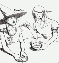 Ryoka pampering Nanette with Happiness by DemonicCriminal