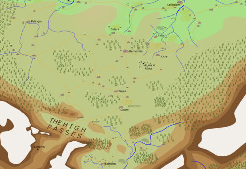 CelumArea Map