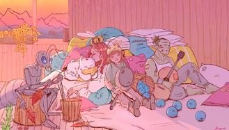 Wandering Inn by Cyan