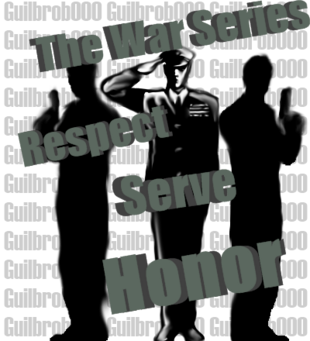 The War Series Logo V.2 Version One Copyrighted