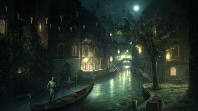 Asora at Night