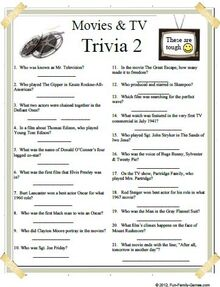 graphic relating to Printable Movie Trivia Questions and Answers referred to as Todays I.Q. Situation: Total Working experience Quizzes The