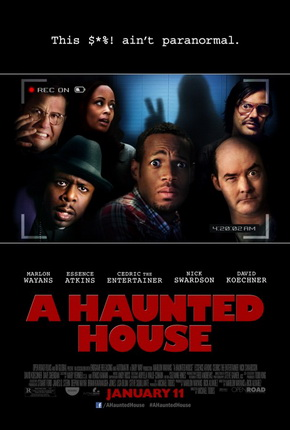 A Haunted House Poster-1-