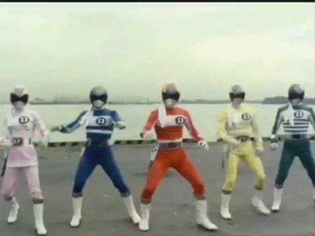 Denshi Sentai Denjiman Ep 1 (2 3)