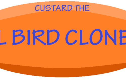 The wiki of Custard the evil bird clone Wiki