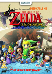 The Wind Waker Movie UK DVD cover