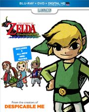 The Wind Waker Movie Blu-ray Cover