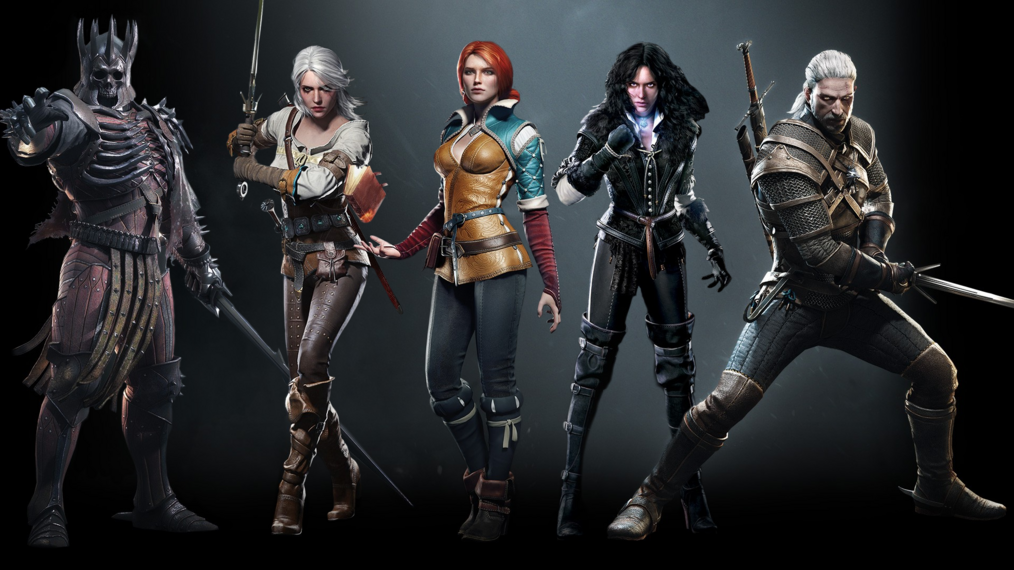 Witcher character 3