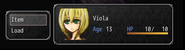 Viola portrait smiling