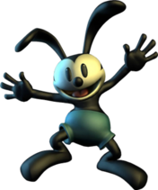 Oswald the Lucky Rabbit Epic Mickey render