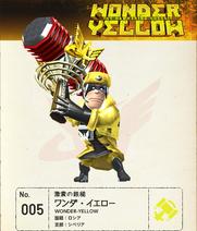 W101 Wonder-Yellow Note