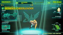 Wonder-Cheerleader
