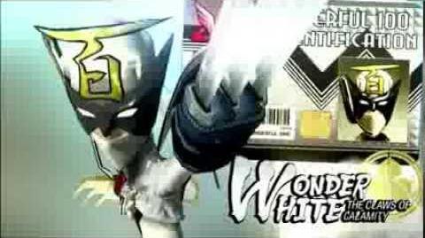 WiiU The Wonderful 101 - Wonder white