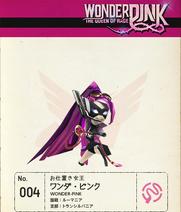 W101 Wonder-Pink Note