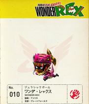 W101 Wonder-Rex Note