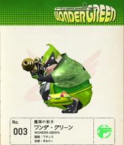 W101 Wonder-Green Note