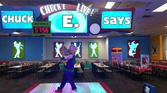 Chuck E. Live Stage - Chuck E. Says 2014