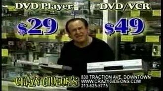 "Crazy Gideon Commercial - IF YOU DON""T BUY FROM ME!!!..."
