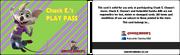 Chuck E's PlayPass (United Kingdom)