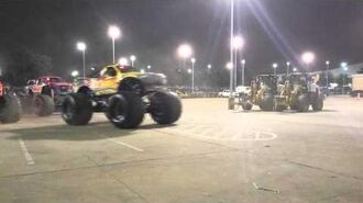 Monster Jam Intro Houston TX 2015