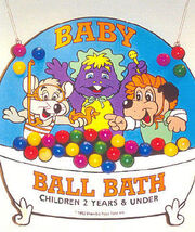 Chuck E. Cheese's Baby Ball Bath