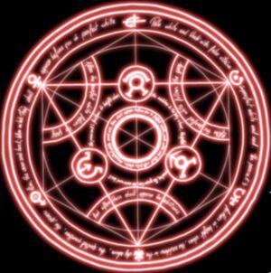 Shikashi transmutation-circle