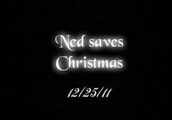 Ned Saves Christmas Official Poster (Ned Saves Christmas)