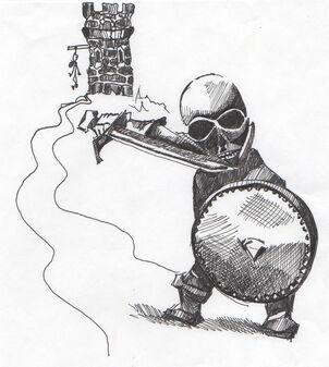 Dwarf-skeleton